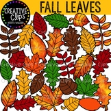 Fall Leaves Clipart {Creative Clips Clipart}