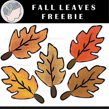 Fall Leaves Clipart (Freebie)