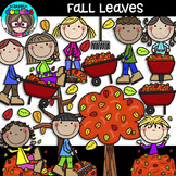 Fall Leaves Clipart {Scrappin Doodles Clipart}