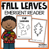 Fall Leaves Color Book Emergent Reader