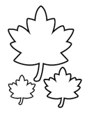 Fall Leaves - Color Sheet