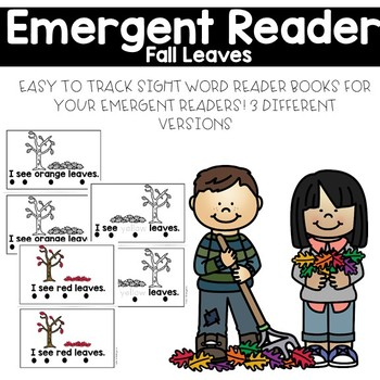 Fall Leaves Emergent Reader