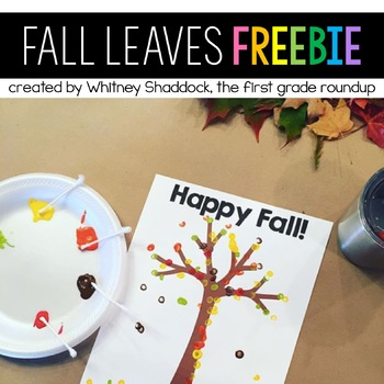Fall Leaves FREEBIE