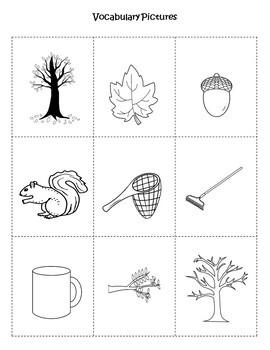 Fall Leaves Fall Language Literacy Activity
