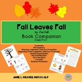 Fall Leaves Fall Language Literacy Activity