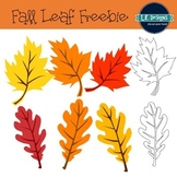 Fall Leaves Clipart Freebie