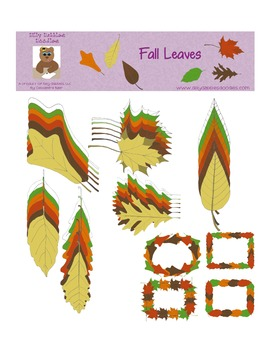 Fall Leaves Graphics Pack