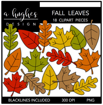 Fall Leaves {Graphics for Commercial Use}