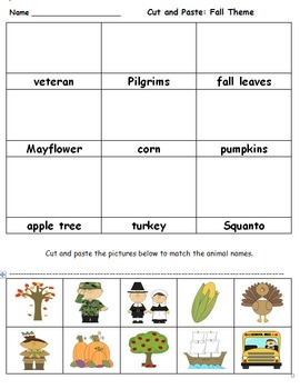 Fall Nonfiction Unit: Thanksgiving, Fall Leaves, Veteran's Day and Harvest