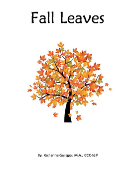 Fall Leaves-Interactive/Adapted Book