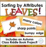 Attribute Sorts Autumn Leaves Activities