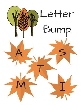 Fall Leaves Letter Bump Literacy Center