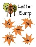 Fall Leaves Letter Bump Literacy Center