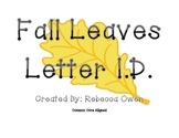 Fall Leaves Letter ID