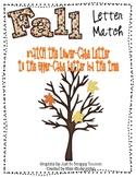 Fall Leaves Letter Match- File Folder