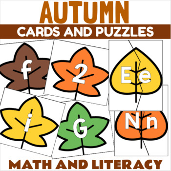 Fall Leaves Letter Recognition Center