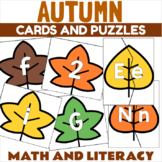Fall Leaves Letter Recognition Center