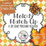 Fall Leaves Melody Match-Up: Beginner/Intermediate BUNDLE