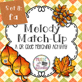 Fall Leaves Melody Match-Up: Fa
