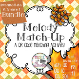 Fall Leaves Melody Match-Up: Intermediate/Advanced Bundle