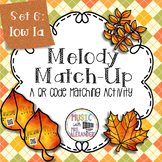Fall Leaves Melody Match-Up: Low La