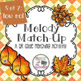 Fall Leaves Melody Match-Up: Low Sol