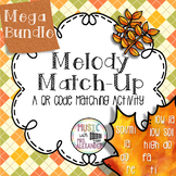 Fall Leaves Melody Match-Up MEGA BUNDLE
