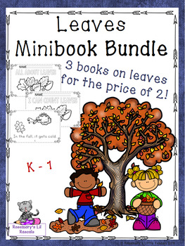 Fall Leaves Mini Book Bundle