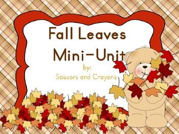Fall Leaves Mini-Unit