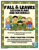 Fall, Leaves, & More...Lesson Plans and Materials