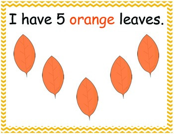 Fall Leaves Number Mats