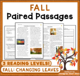 Fall Leaves: Paired Passages/Texts