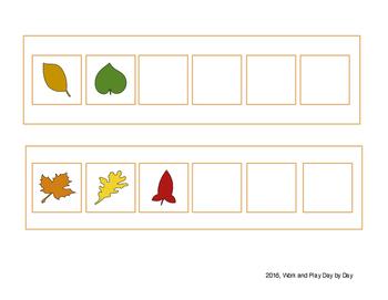 Fall Leaves Patterning
