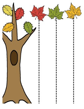 Fall Leaves Pre-Writing & Writing Packet