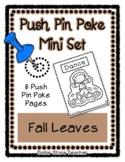 Fall Leaves - Push Pin Poke No Prep Printables - 6 Picture