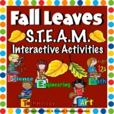 Fall / Leaves. STEM and STEAM Interactive Activities.