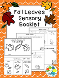 Fall Leaves Sensory Booklet