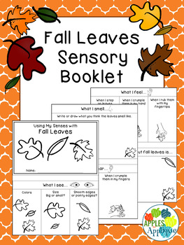 Senses with Fall Leaves: A Sensory Booklet