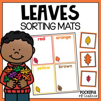 Fall Leaves Sorting Mats