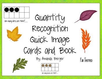 Fall Leaves Subitizing Numbers 1-10