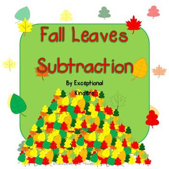 Fall Leaves Subtraction Mats