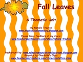 Fall Leaves Thematic Unit