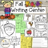 Fall Leaves Writing Center, Word Wall Cards, Writing Prompts, Paper, Post Cards