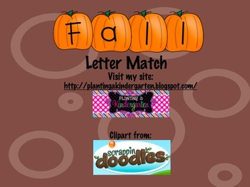 Fall Letter Match