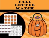 Fall Letter Matching (upper and lowercase)