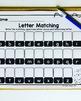Fall Letter Match Pocket Chart Activity