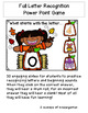 Digital Fall Letter Match Power Point  Game with Audio