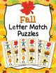 Fall Letter Match Puzzles Bundle