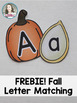 Fall Letter Matching - Free