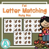 Fall Letter Matching Busy Box